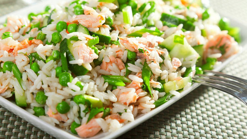 Салат к рыбному блюду рецепт
