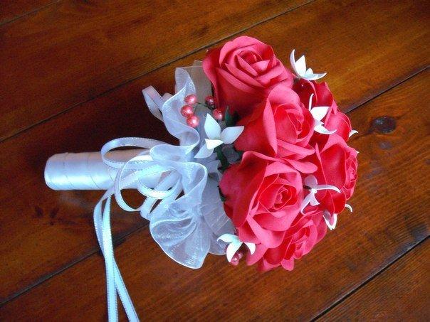 Букет для невесты своими руками из фома