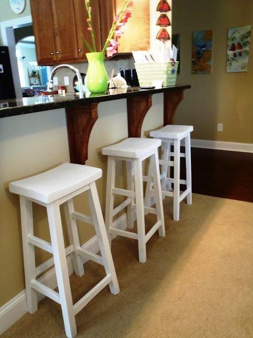 Как сделать барные стулья своими руками из дерева 66