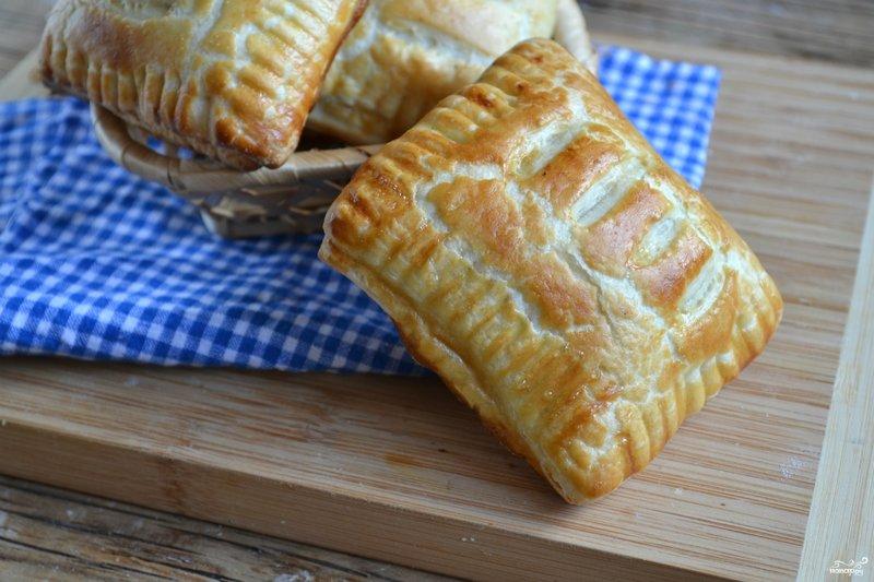 Пироги рецепты из слоеного бездрожжевого теста с пошагово
