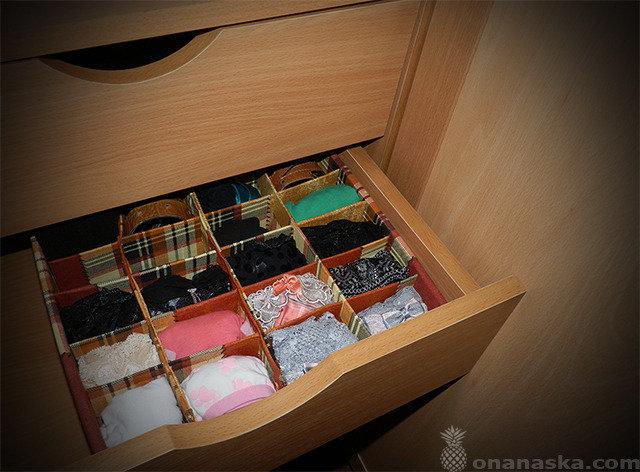 Делаем коробки для хранения