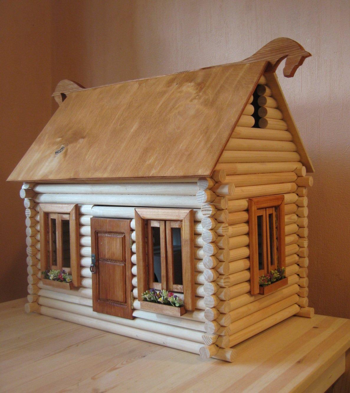 Домик деревянные своими руками