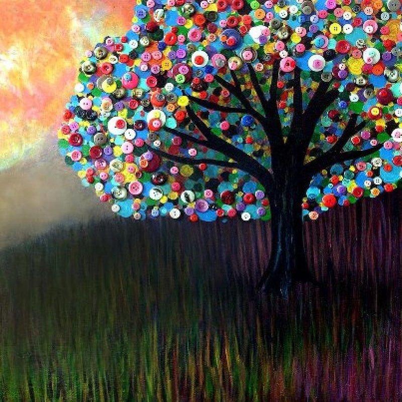 Деревья из подручных материалов своими руками
