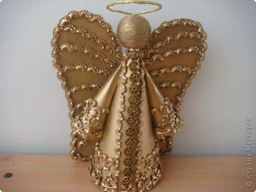 Ангел как сделать поделку