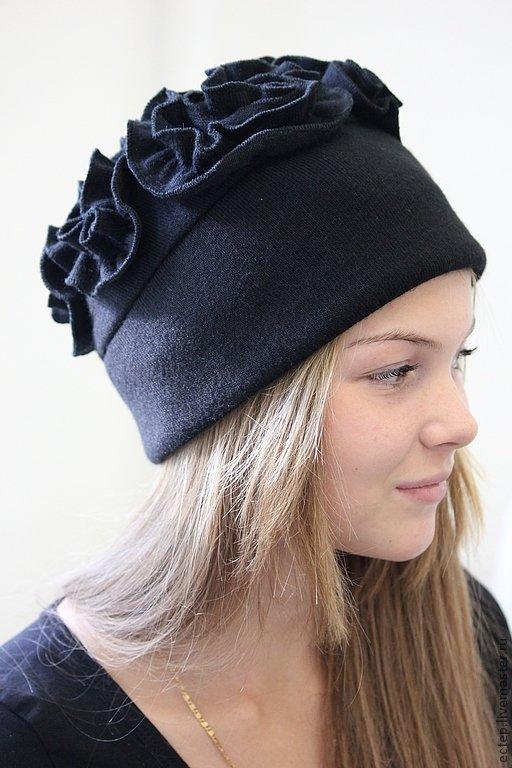 Женская шапка своими руками из ткани