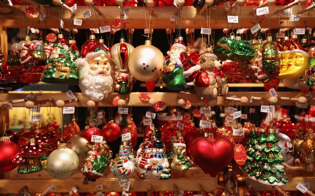 Рождественская ярмарка цдх подарки