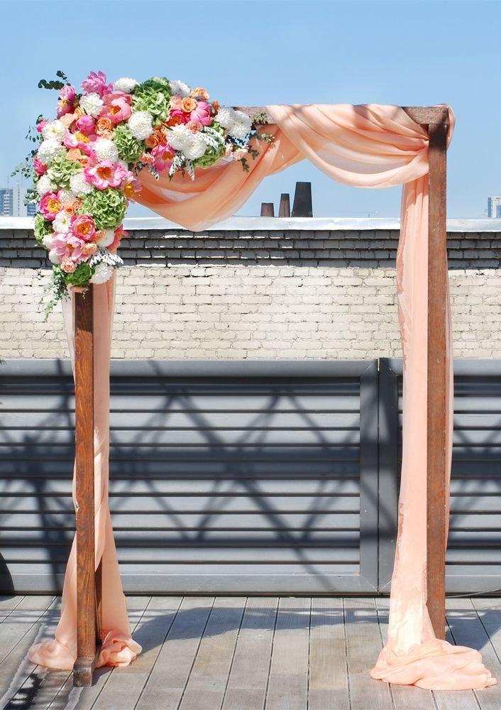 Деревянная свадебная арка своими руками