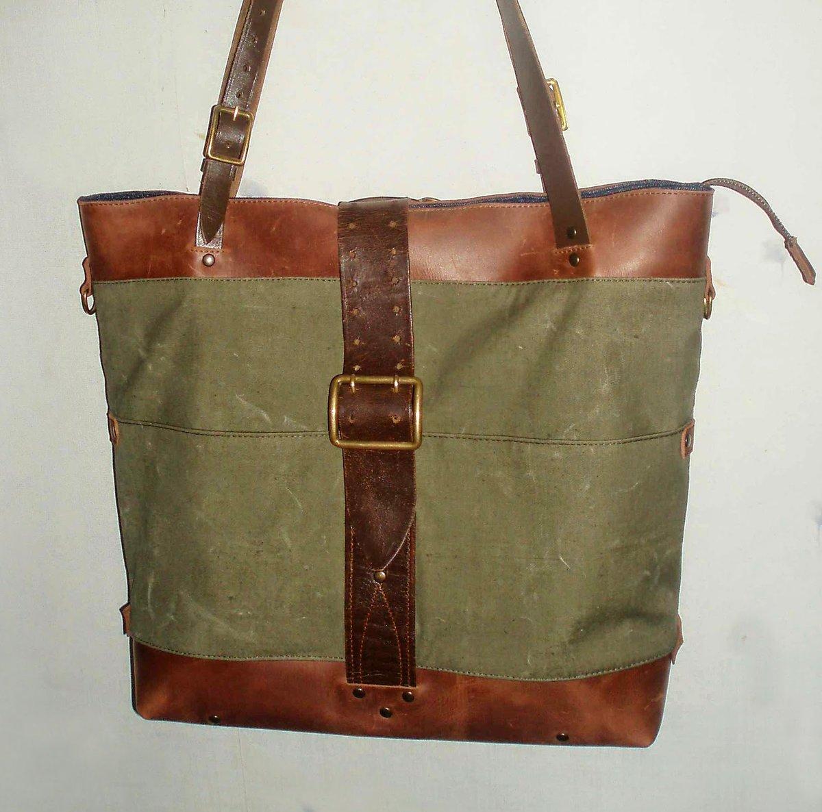 Мужская сумка из брезента своими руками 89