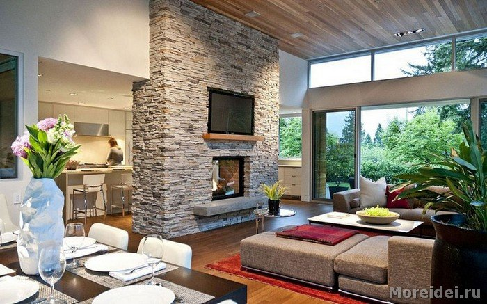 Фото дизайн интерьеров загородных домов