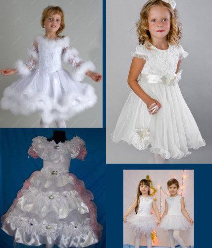 Новогодние платья для девочки сшить 422