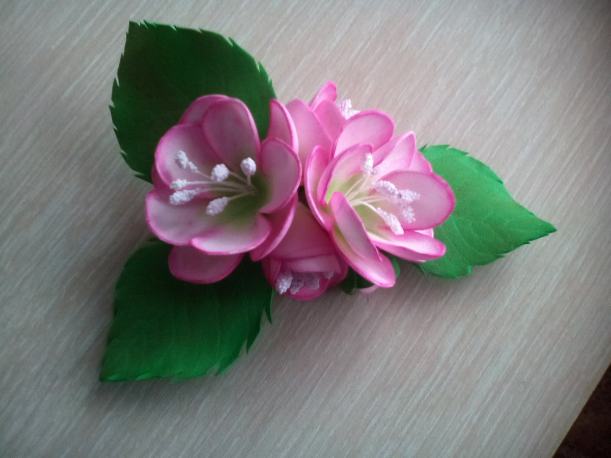 Цветы из фоамирана своими руками: мастер-класс для 82
