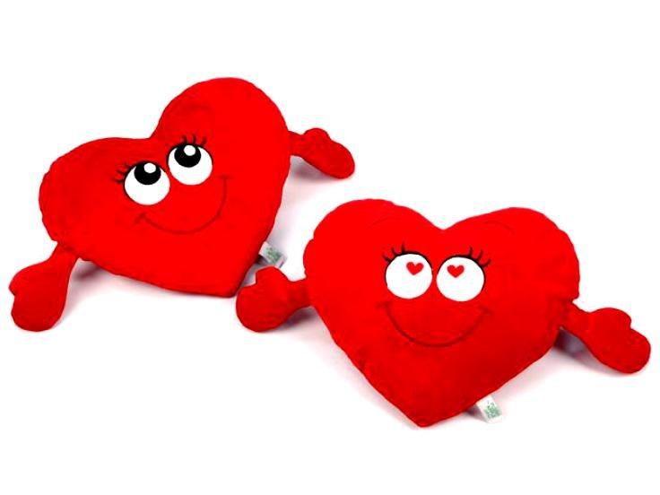 Сердце мягкая игрушка