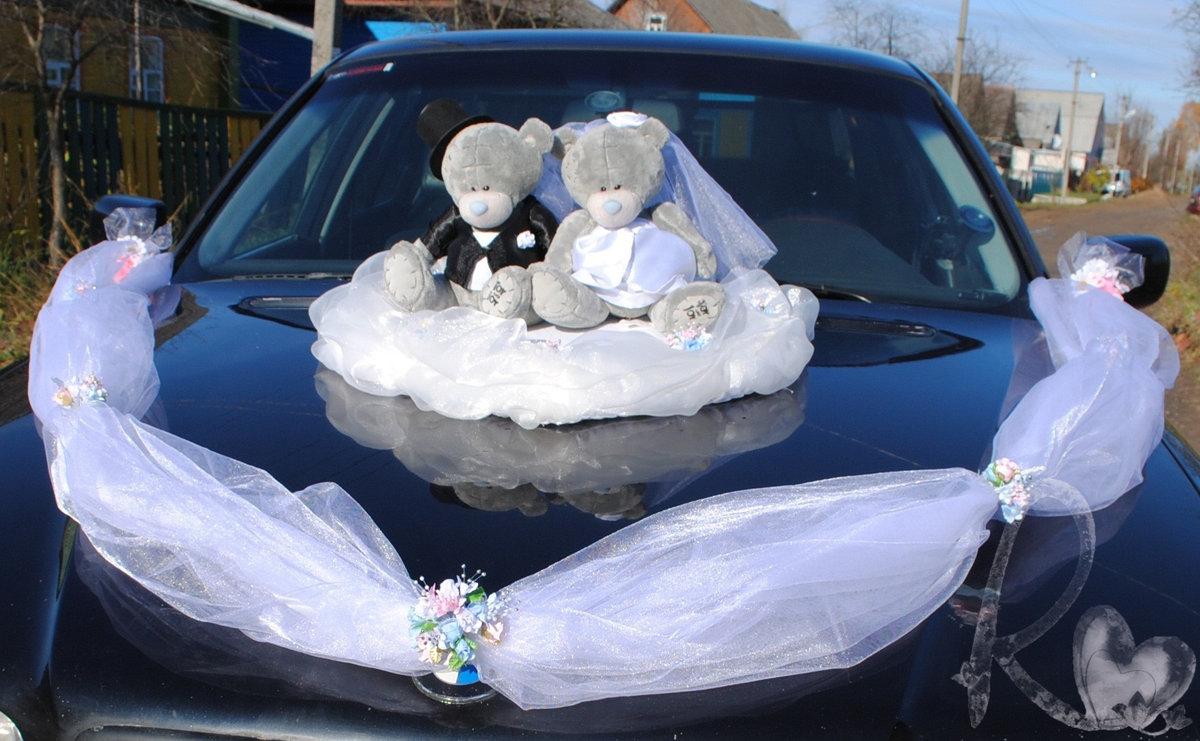 Как украсить своими руками свадебное авто 62