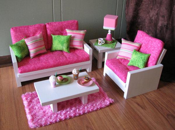Мебель своими рука для кукол барби 673