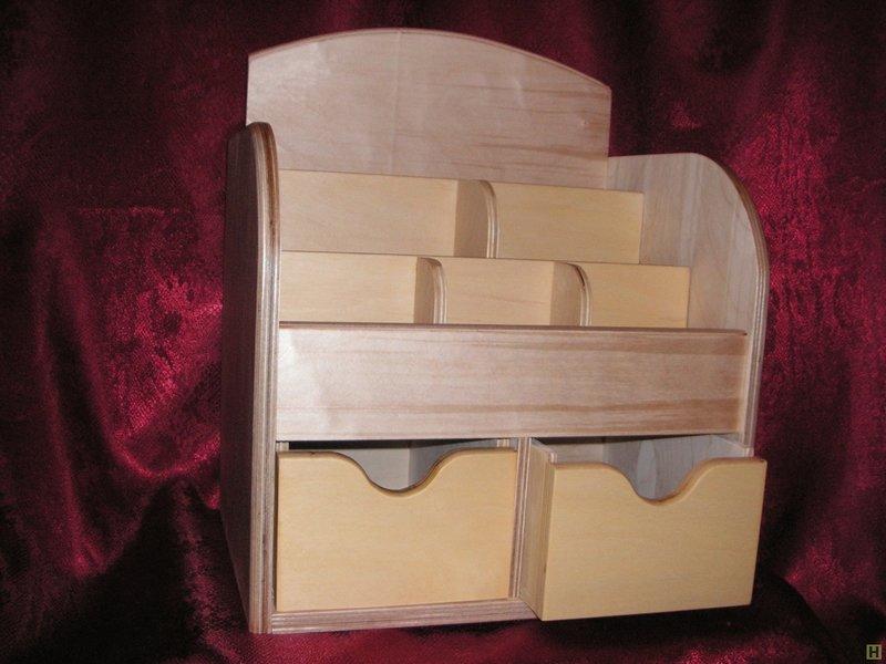 Органайзер для косметики своими руками из картона