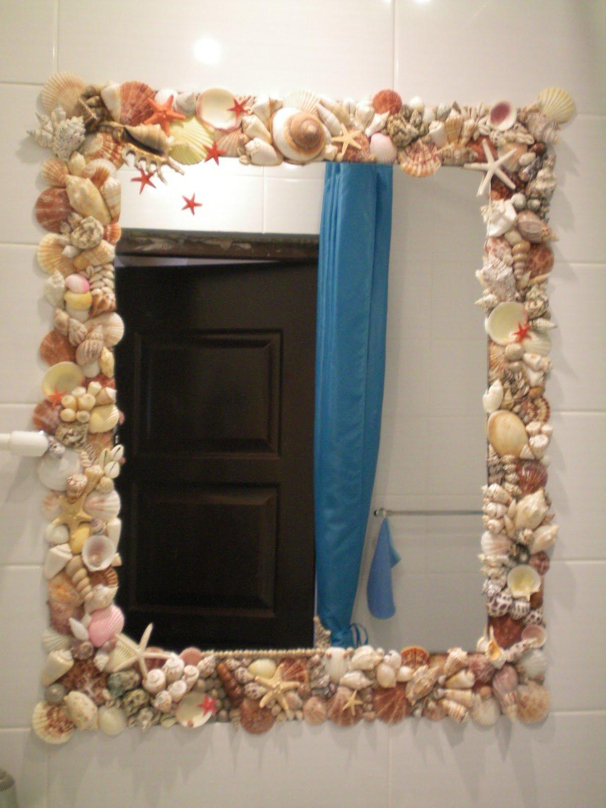 Оформление зеркал своими руками 83