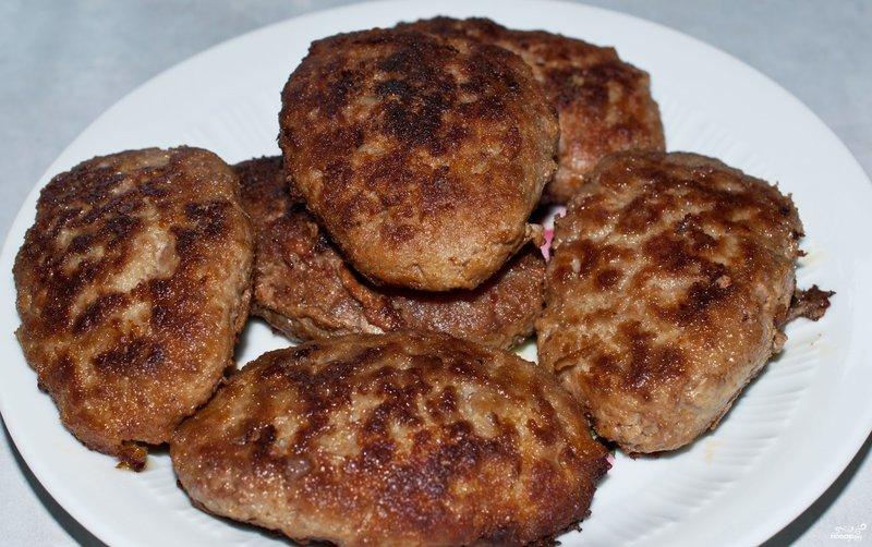 Рецепт котлет из фарша говядины и свинины пошагово в духовке