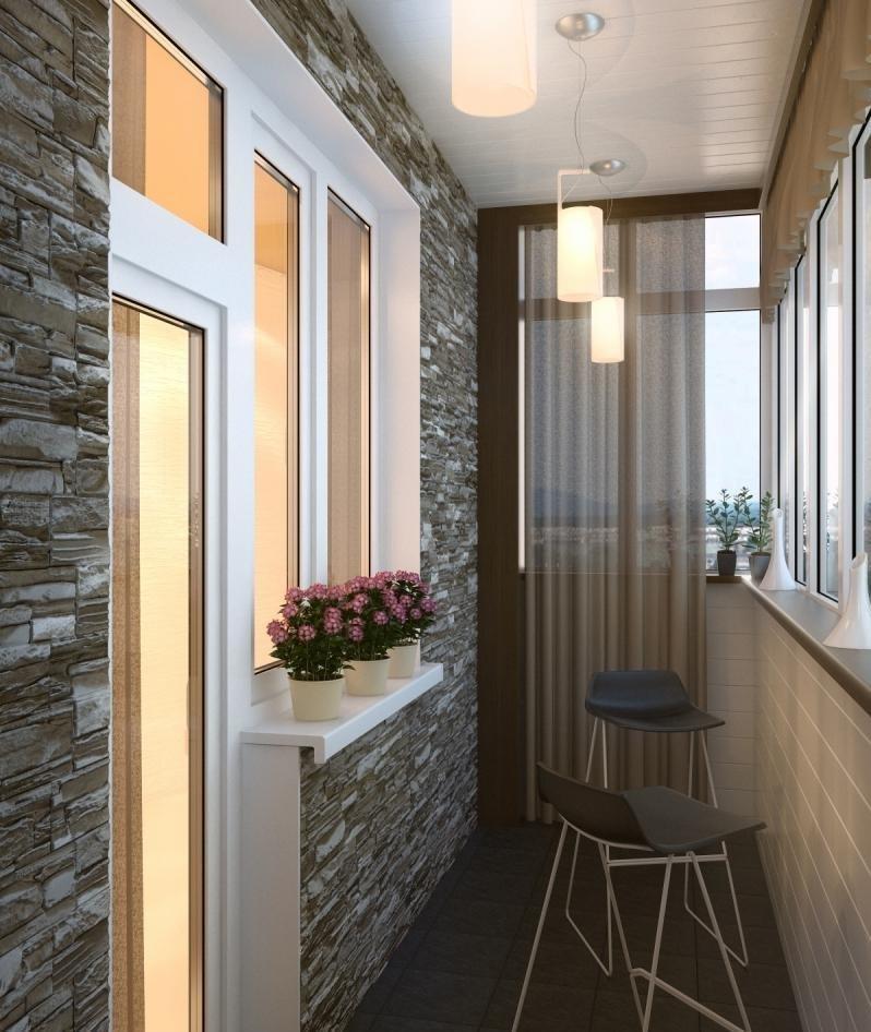 Отделка балконов дизайн своими руками фото 63