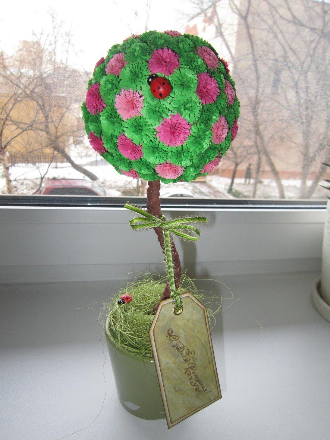 Фото поделки дерева счастья