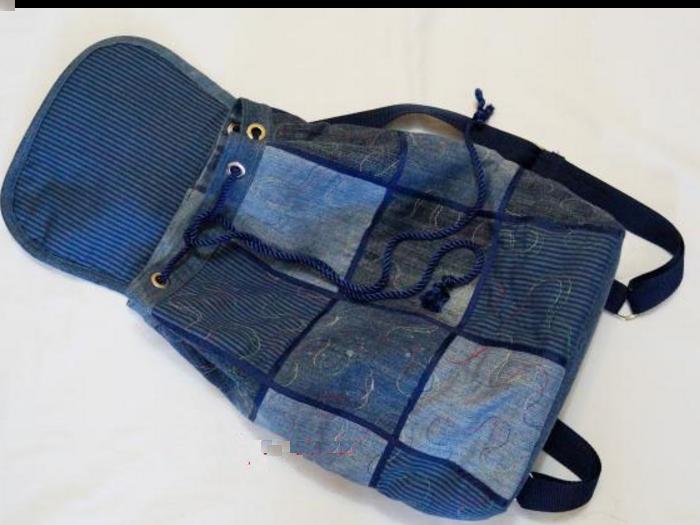 Сшить рюкзак из джинсов своими 175