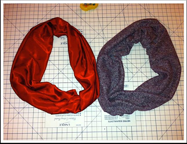Как сшить шарф снуд для ребенка своими руками