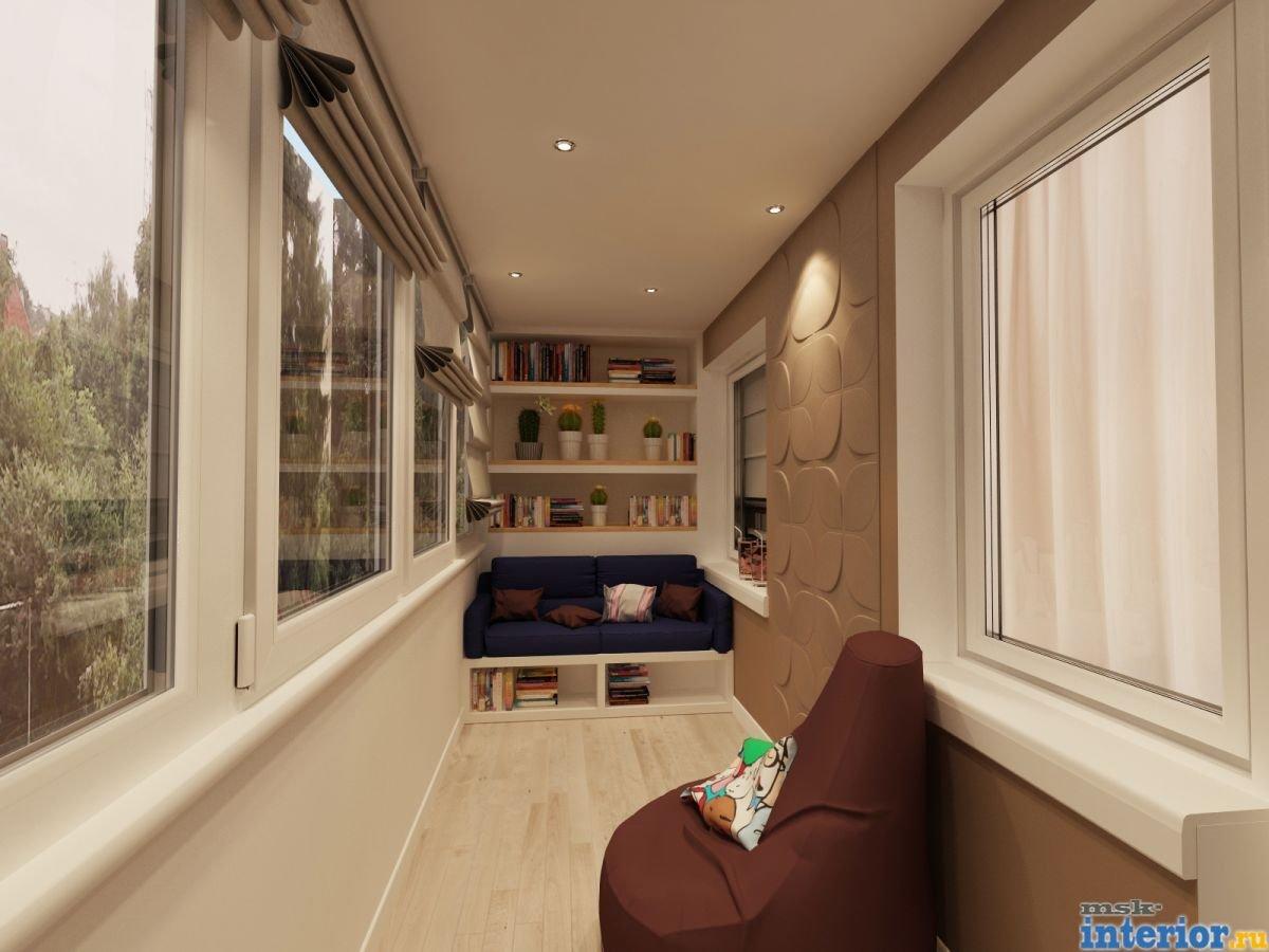 Маленький Узкий балкон интерьер дизайн