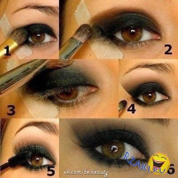 Как надо делать макияж глаз