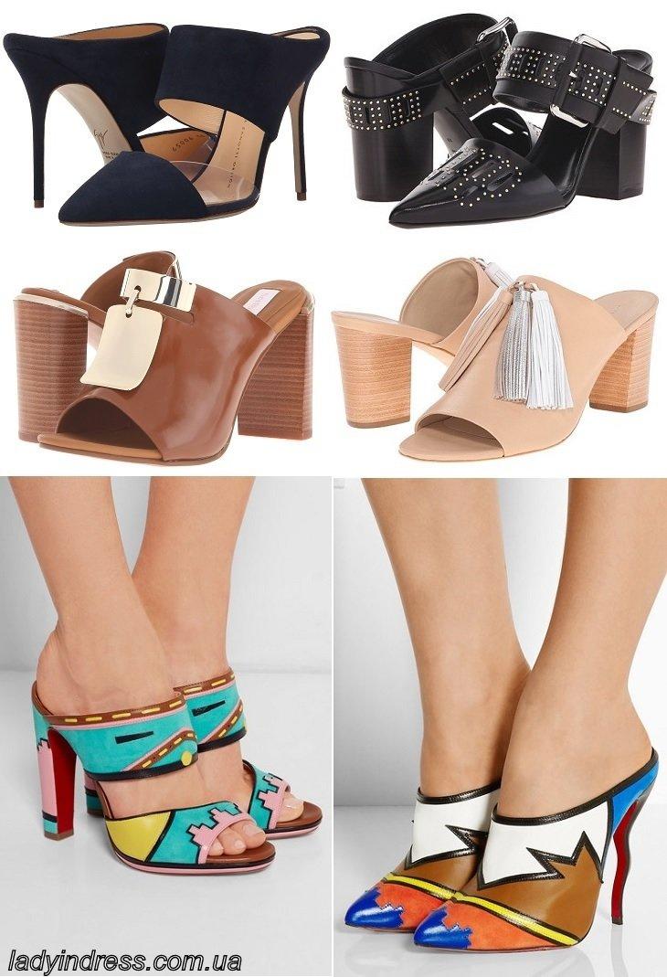 Самая модная обувь лета фото