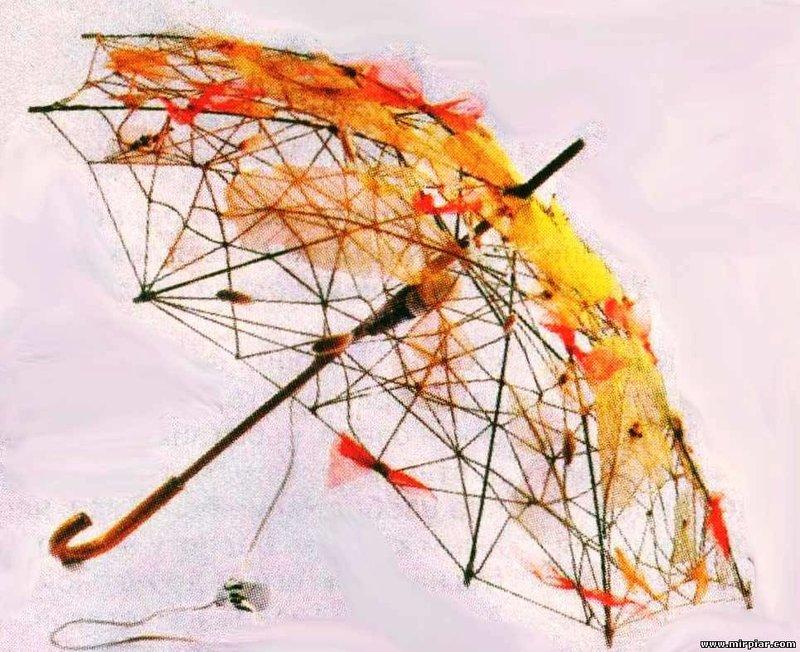 Как самому сделать зонт
