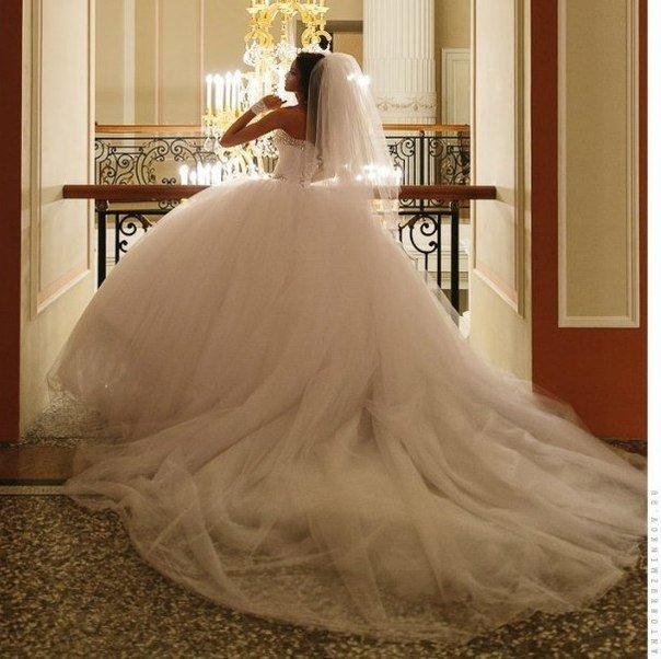 Самое красивое и пышное свадебное платье