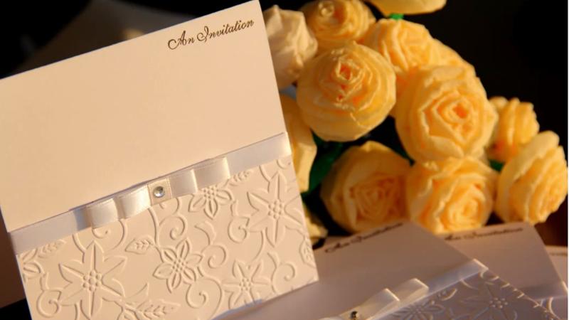 Как сделать приглашения на свадьбу своими руками мастер класс