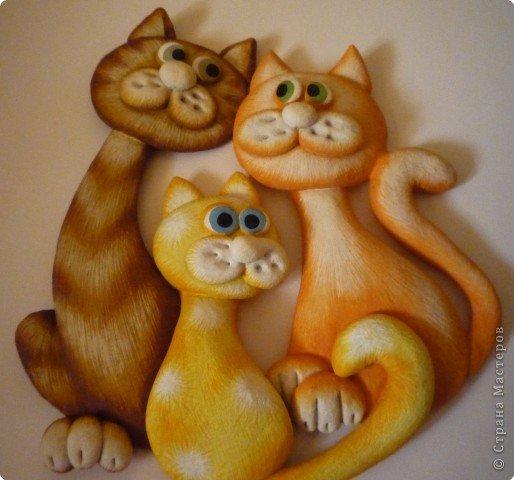 Кошки из теста