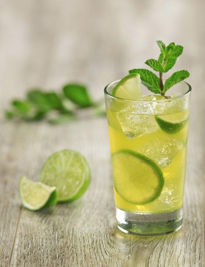 Как приготовить напиток мята с лаймом