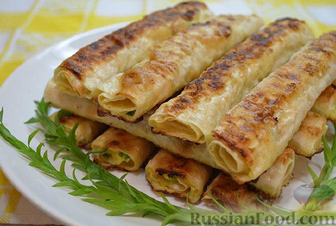 Лаваш в духовке с начинкой рецепты с фото пошагово