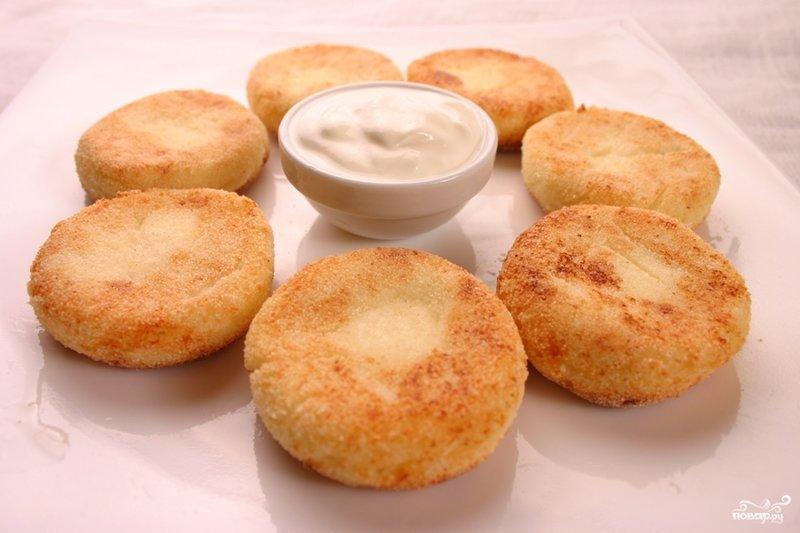 сырники из творога с манкой в духовке рецепт с фото