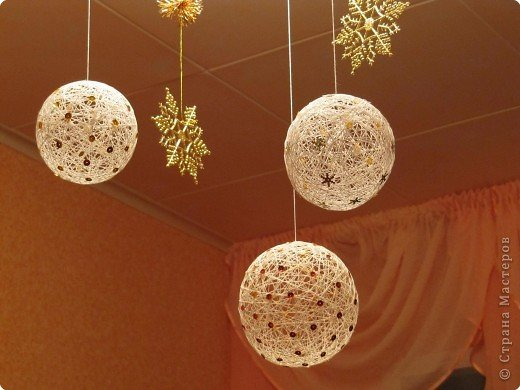 Воздушные шары из ниток своими руками - Праздничные шары из ниток: мастерим своими руками - карточка от пользователя kseniya.rud