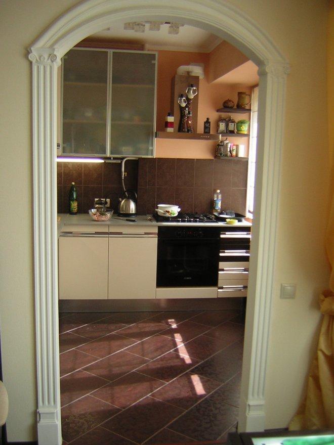 Как красиво сделать вход на кухню