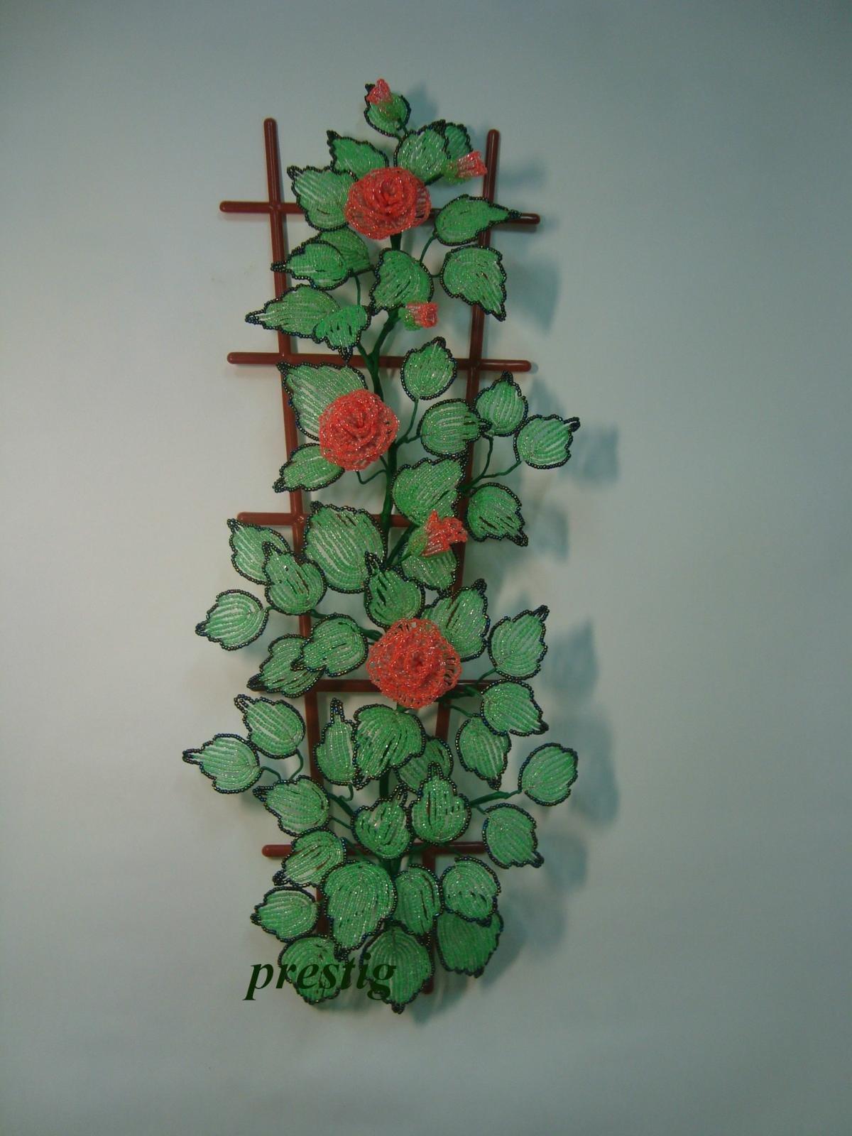 Панно из бисера на стену своими руками 655