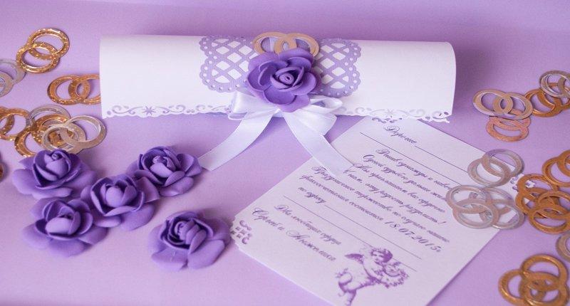 Пригласительные на свадьбу своими руками свитки пошаговая инструкция 81