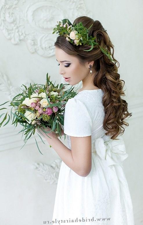 Фото прически свадебные женские