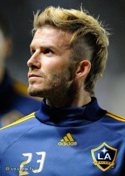 Прически на средние волосы у футболистов