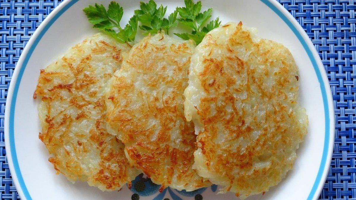 Драники с овощами рецепт пошагово