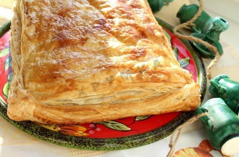 Слоеное тесто пирог рецепты с