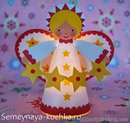 Ангел своими руками с ребенком