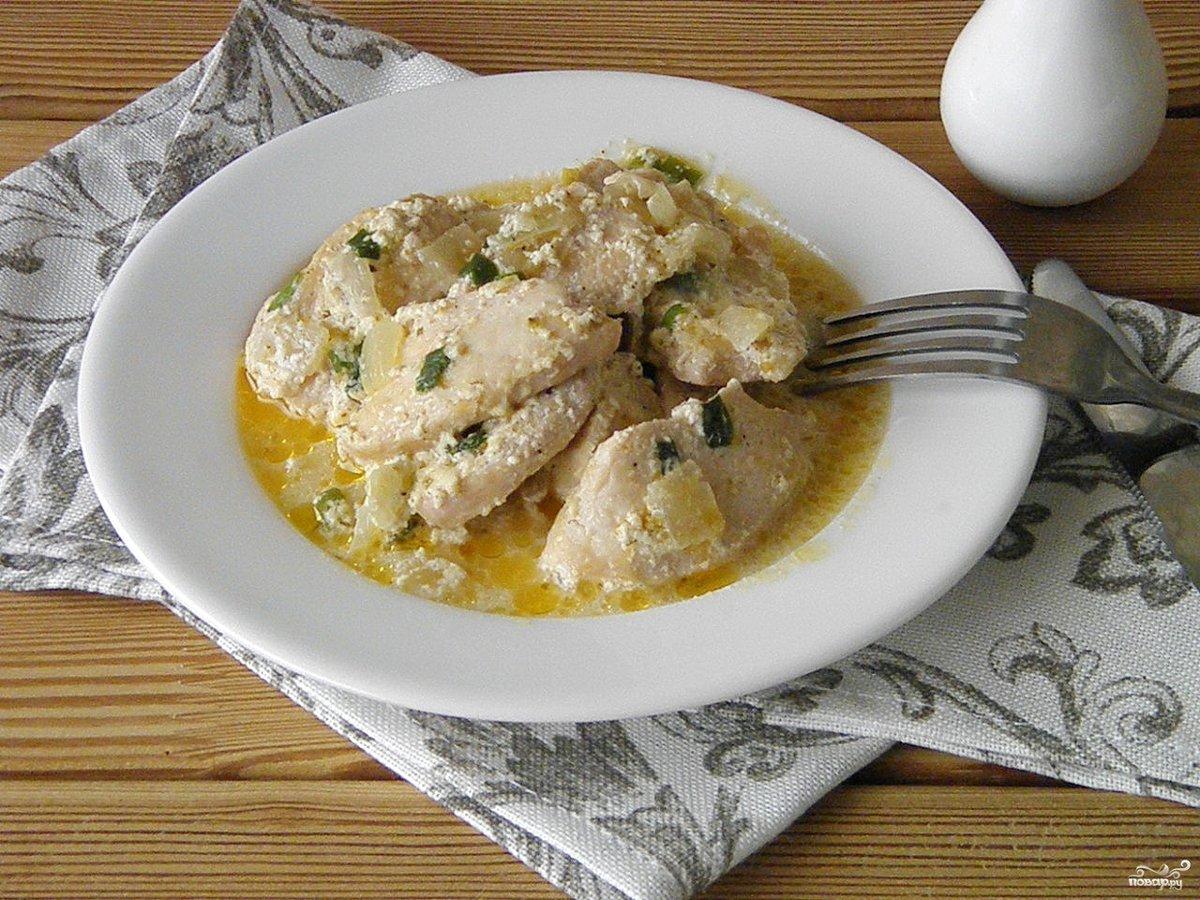 Куриное филе рецепты со сливками