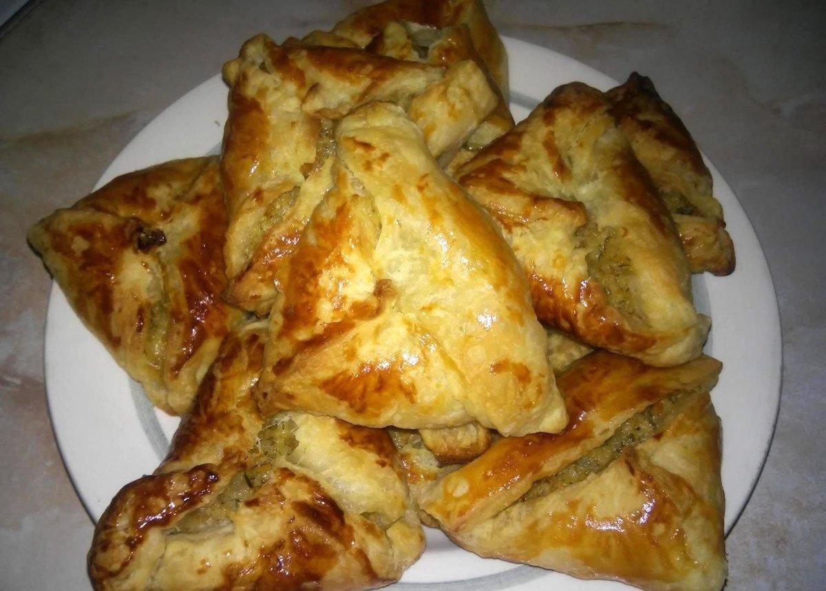 Тесто для слоеной самсы пошаговый рецепт