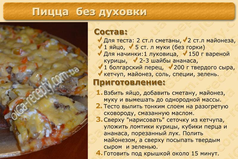 Пицца рецепт в домашних условиях в духовке тесто дрожжевое