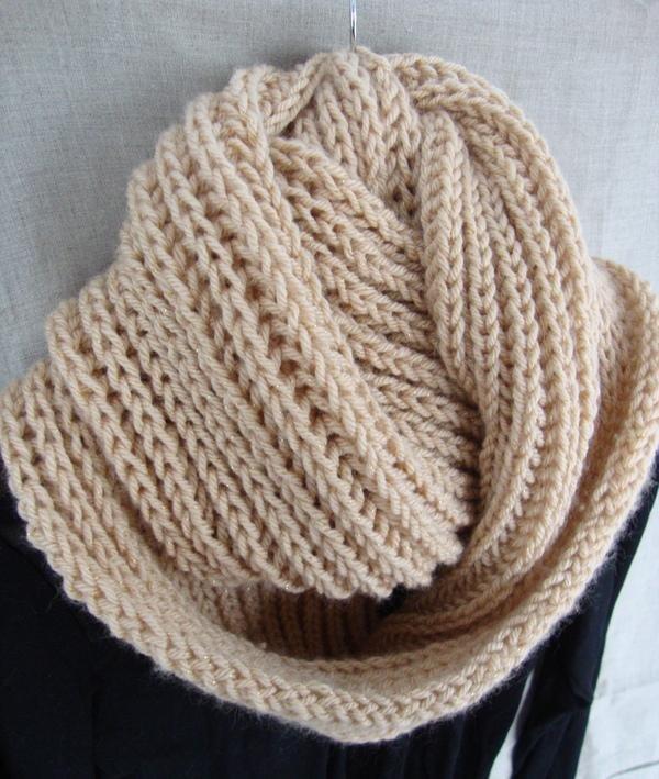 Английская резинка вязание хомута