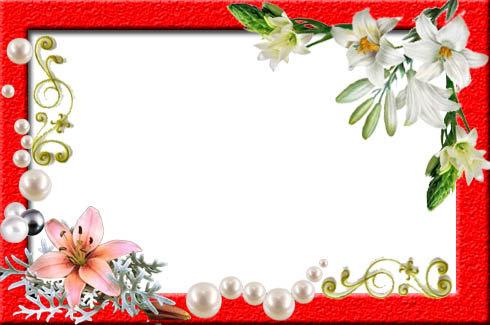 Рамки для поздравления на открытку