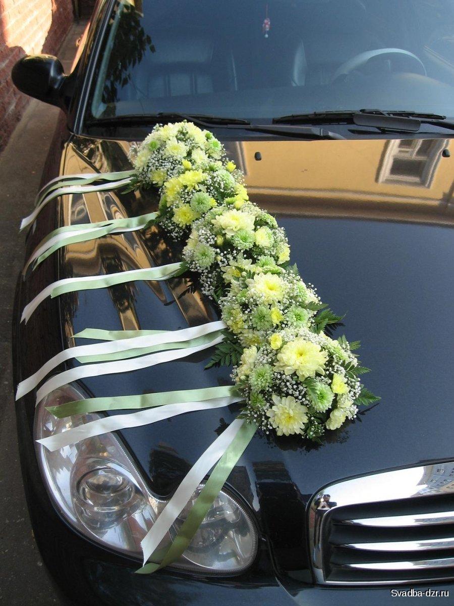 Фото свадебные машины оформление цветами